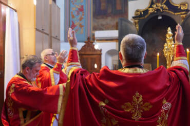 Пренос литургије на празник Васкрсења Христовог